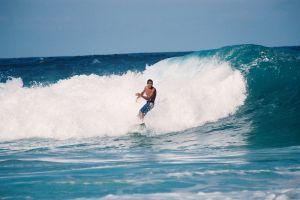 wave ocean surfer