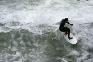 waves surfing surfer watersport man fun sport