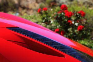 wheel red fast car motor windows roses speed car ferrari cool