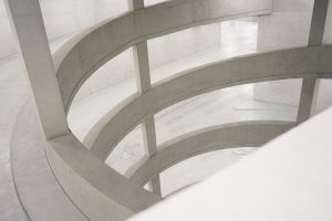 windows design white glass pattern indoors architectural design modern curve glass items