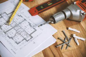 workshop tools designing wood work tape measure screws planning blueprint diagram