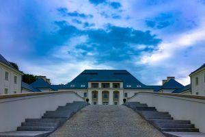 zamek picture sky hotel janow podlaski clouds poland castle