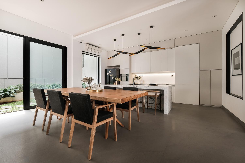 kitchen chair table interior design modern interior