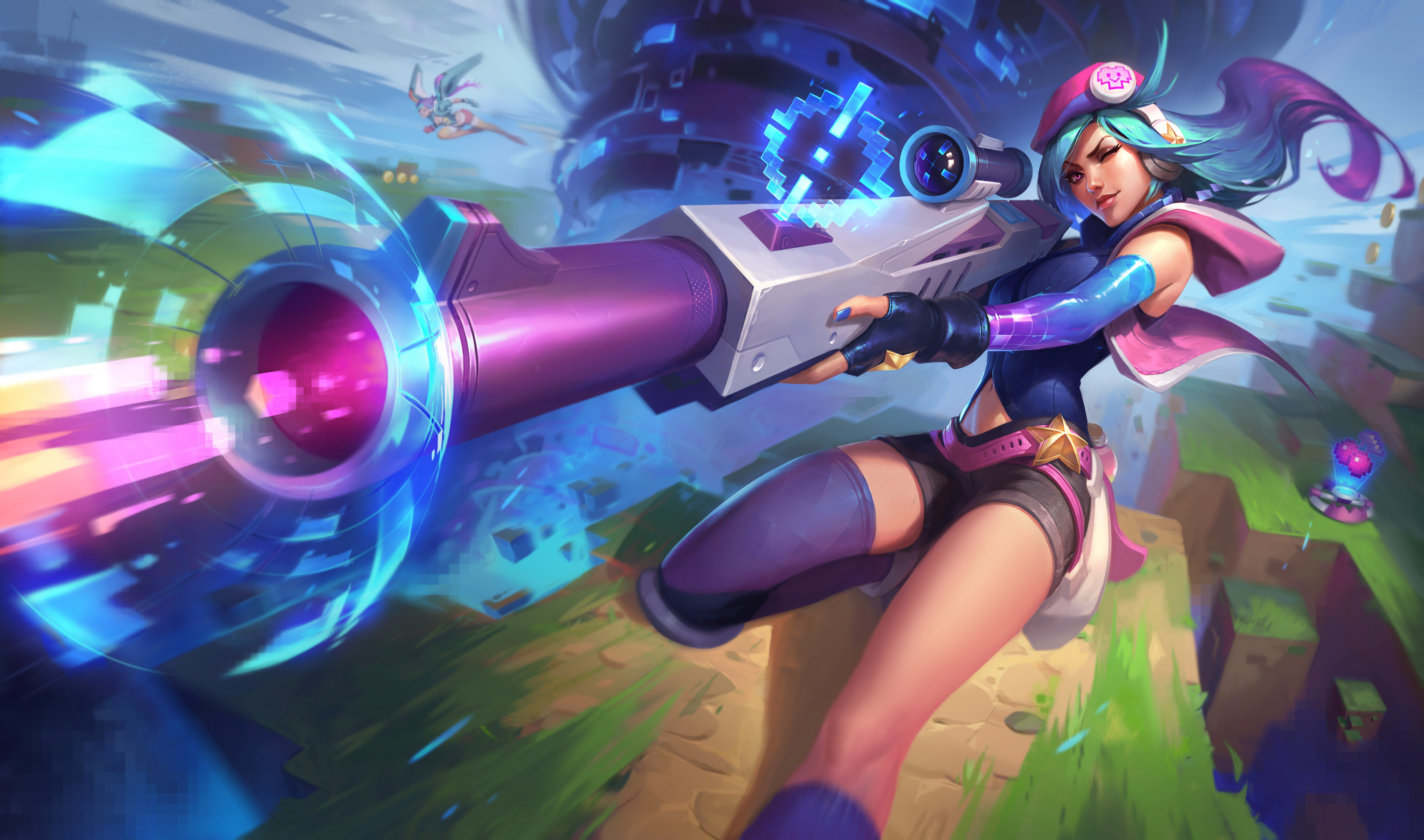 league of legends caitlyn video game girls game boy advance caitlyn (league of legends) video game characters arcade machine arcade  arcade skins