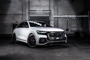2019 white cars vehicle audi abt audi q8