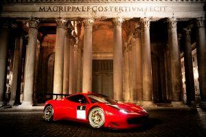 458 italia ferrari red gran turismo italy car
