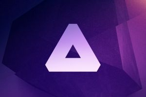 abstract purple background triangle