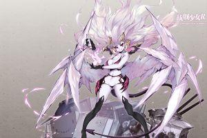 anime anime girls windforcelan warship girls