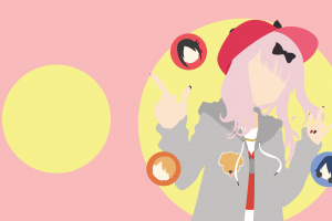 anime girls anime kaguya-sama: love is war chika fujiwara