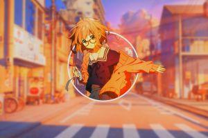 anime girls glasses anime