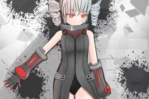 anime girls honkai impact 3rd honkai impact anime red eyes