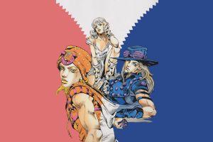 anime jojolion jojo's bizarre adventure johnny joestar gyro zeppeli hirohiko araki manga lucy steel steel ball run