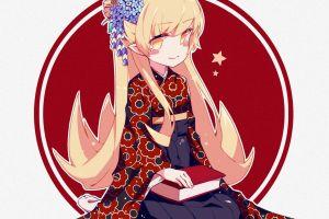 anime monogatari series oshino shinobu anime girls