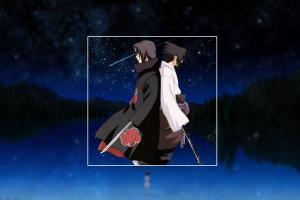 anime night sky anime boys