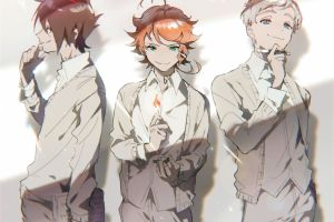 anime the promised neverland  smiling pen books matchstick