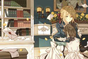 anime violet evergarden blonde anime girls