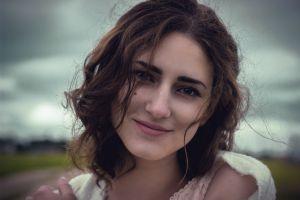 arthur ruslanovich face smiling women outdoors women model portrait