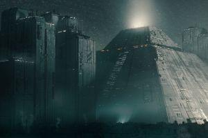 artwork blade runner futuristic city futuristic cyberpunk