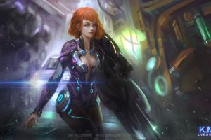 artwork fantasy girl fantasy art