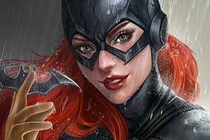 artwork redhead batgirl batman fantasy girl