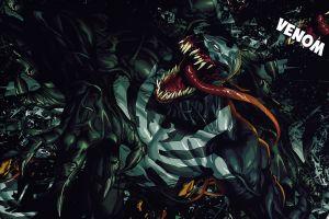 artwork venom creature