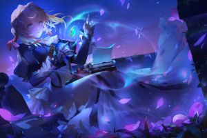 artwork violet evergarden magic