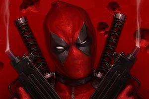 artwork weapon antiheroes deadpool