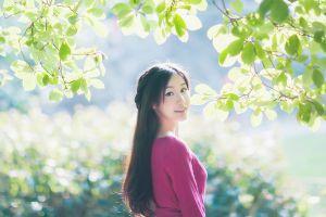 asian women model photography
