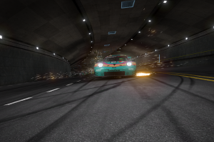 assetto corsa car video games race tracks tunnel screen shot