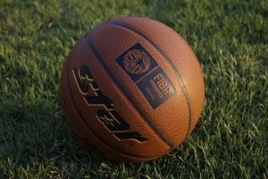 basketball grass field sports sport