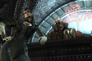 bayonetta screen shot video games