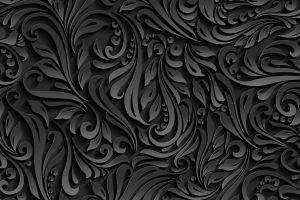 black pattern texture monochrome