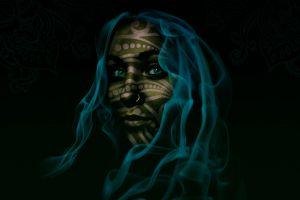 black portrait women