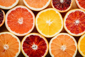 blood orange food orange (fruit) lemons grapefruits colorful fruit