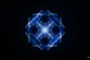 blue mandalas digital mandala geometry abstract photoshop pattern