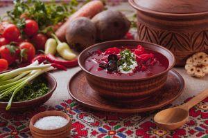 borscht still life food traditional foods soup vegetables