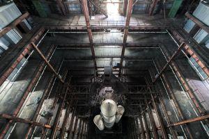 building top view rocket vehicle