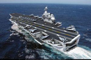 cgi digital art ship china navy vehicle aircraft carrier military