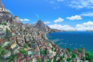 cityscape anime one piece