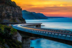 cliff sydney bridge
