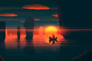 coast sunset water joeyjazz