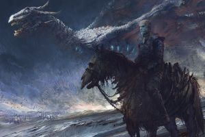 creature game of thrones fantasy art artwork
