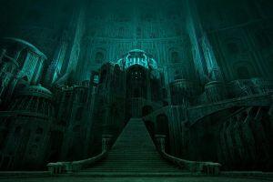 dark fantasy architecture architecture