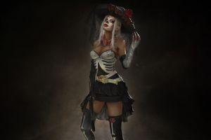 dia de los muertos artwork fantasy art fantasy girl