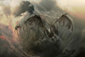 dragon artwork fantasy art creature