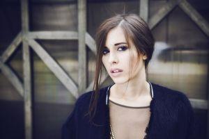 elvira t open mouth brunette russian women women singer