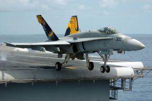 f/a-18 hornet aircraft carrier jet fighter navy aircraft