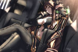 fate/apocrypha  assassin of red anime girls big boobs assassin of red (semiramis) (fate/apocrypha) fate series