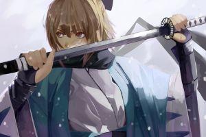 fate/grand order vic anime souji okita (fate) anime girls