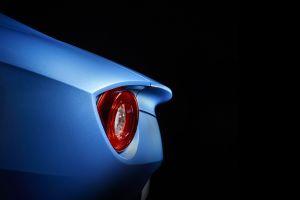 ferrari simple background black background vehicle blue cars ferrari f12berlinetta